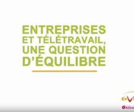Eovi Mcd mutuelle : Les bénéfices du télétravail pour les entreprises avec Alain d'Iribarne [Reportage]