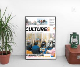 Cultures, un nouveau magazine pour les agents du ministère