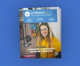 Auvergne Rhône-Alpes départementalise son magazine