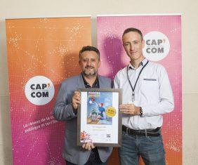 Prix de la presse territoriale, Cap Com 2018.