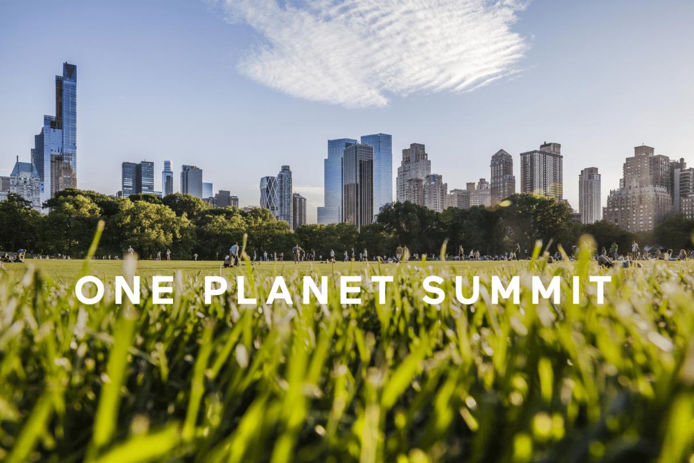 Citizen Press rédige des contenus éditoriaux pour la nouvelle plateforme du One Planet Summit