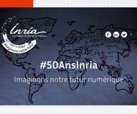Inria, 50 ans déjà !