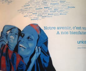Citizen Press fait le mur pour l'UNICEF