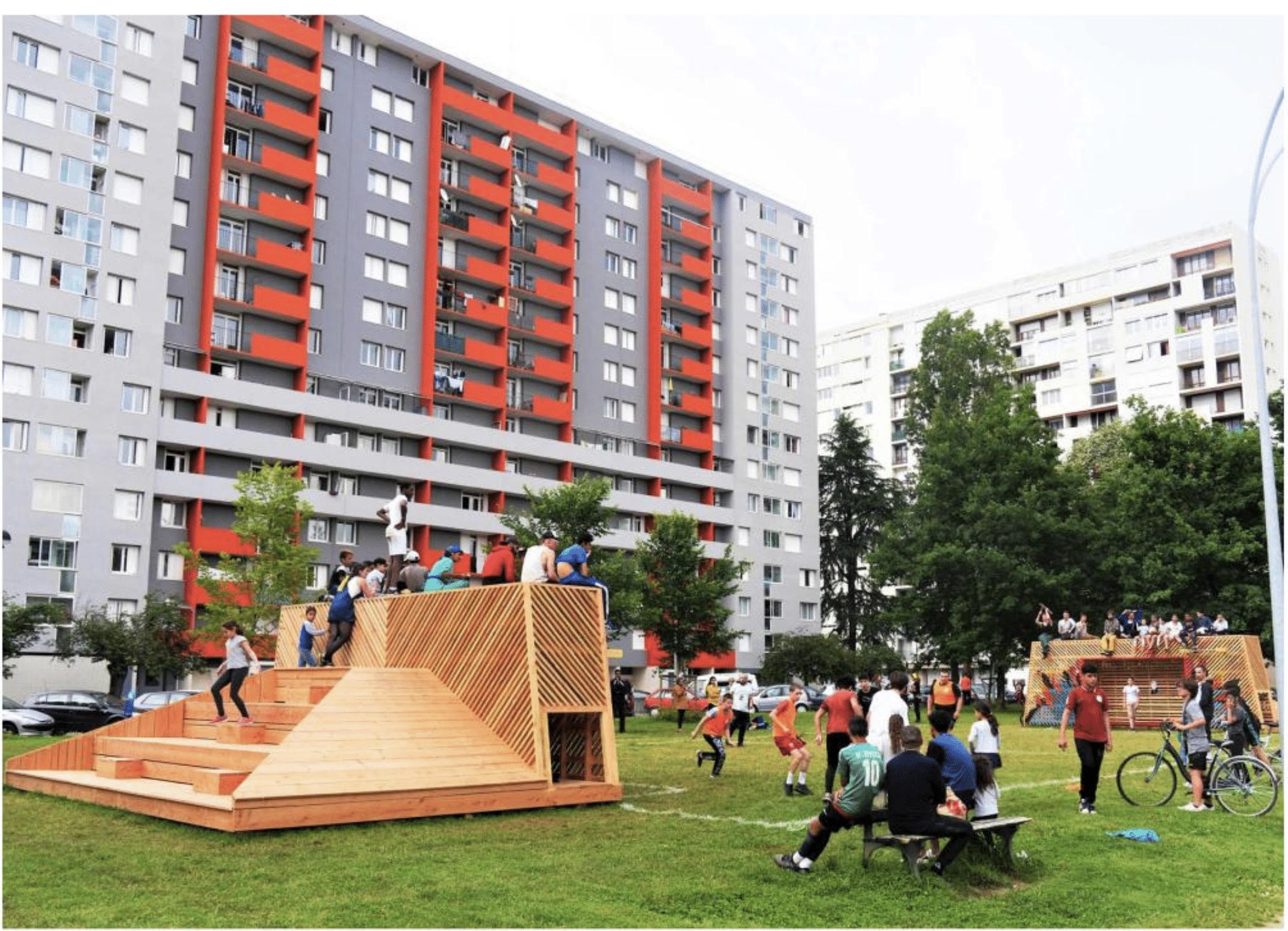 Transformer les quartiers et les espaces verts
